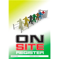 Onsite Register Logbook
