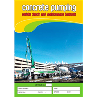 Concrete Pumping Logbook