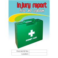 Injury Report First Aid Logbook