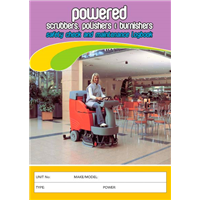 Powered Scrubbers Polishers & Burnishers Logbook