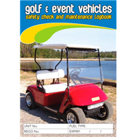 Golf & Event Vehicle Logbook