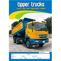Tipper Trucks Safety Check & Maintenance Logbook