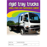 Rigid Tray Trucks Safety Check & Maintenance Logbook