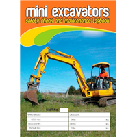 Mini Excavators Safety & Maintenance Logbook
