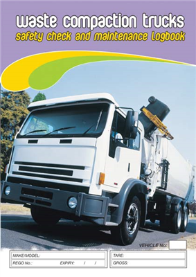 Waste Compaction Truck Safety & Maintenance Logbook