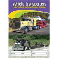Vehicle Transporters Safety & Maintenance Logbook