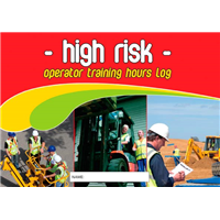 High Risk Operator Training Hours Logbook