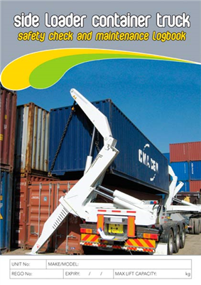 Side Loader Container Truck Safety & Maintenance Logbook
