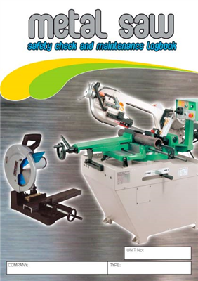 Metal Saw Logbook