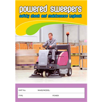 Powered Sweepers Safety Check & Maintenance Logbook