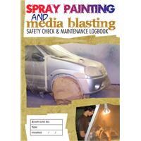 Spray Painting & Media Blasting Safety Check & Maintenance Logbook
