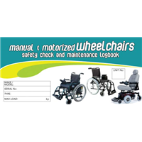 Manual & Motorised Wheelchairs Logbook