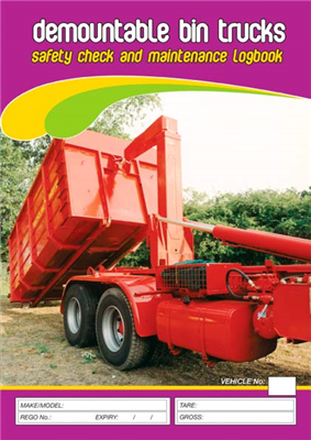 Demountable Bin Trucks Safety & Maintenance Logbook