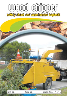 Wood Chipper Safety & Maintenance Logbook