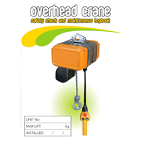 Overhead Crane Safety & Maintenance Logbook