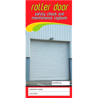 Roller Door Safety & Maintenance Logbook