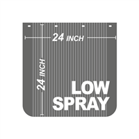 24 Inch x 24 Inch Low Spray