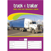 Truck & Trailer Safety and Maintenance Logbook