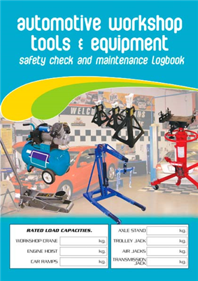 Auto Workshop Tools Logbook