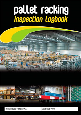 Pallet Racking Inspection Logbook