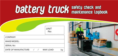 Battery Truck Logbook