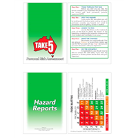 Take 5 Personal Risk Assessment Hazard Reports