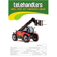 Telehandlers Safety Check & Maintenance Logbook