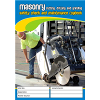 Masonry Cutting Drilling & Grinding Logbook