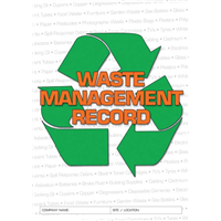 Waste Management Record Logbook
