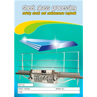 Sheet Glass Processing Safety & Maintenance Logbook