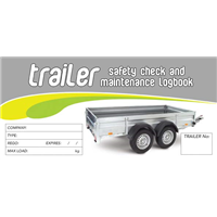 Trailer Safety Check & Maintenance Logbook
