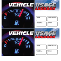 Vehicle Usage 2pk Logbook