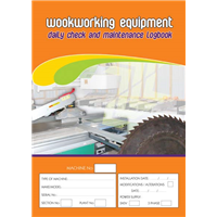 Woodworking Equipment  & Maintenance Logbook
