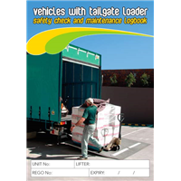 Tailgate Loader Safety & Maintenance Logbook