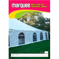 Marquee Safety Check & Maintenance Logbook