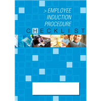 Employee Induction Proceedure Checklist Logbook