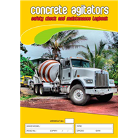 Concrete Agitator Logbook