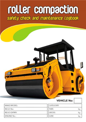 Roller Compaction Safety Check & Maintenance Logbook