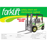 Forklift 3 Shift Logbook