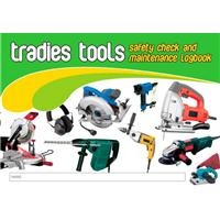 Tradies Tools Safety & Maintenance Logbook